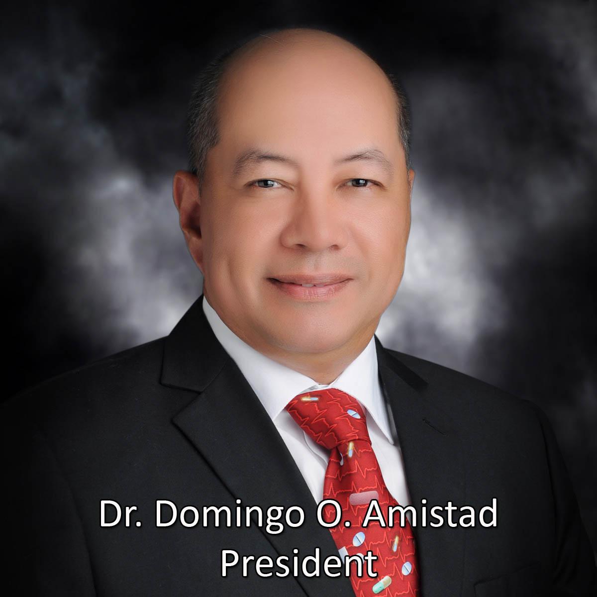 002DrDomingoAmistad_President